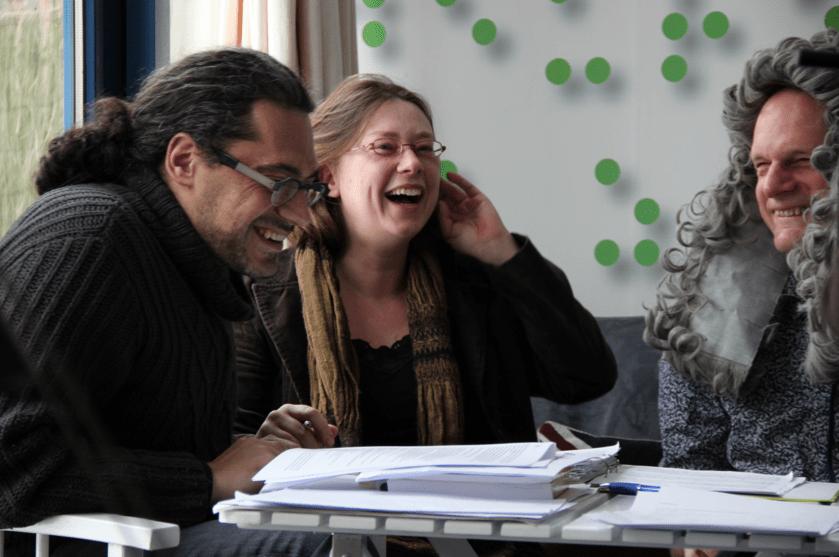 Gustavo Trujillo, Maria en VincentBijlo- aan het werk!