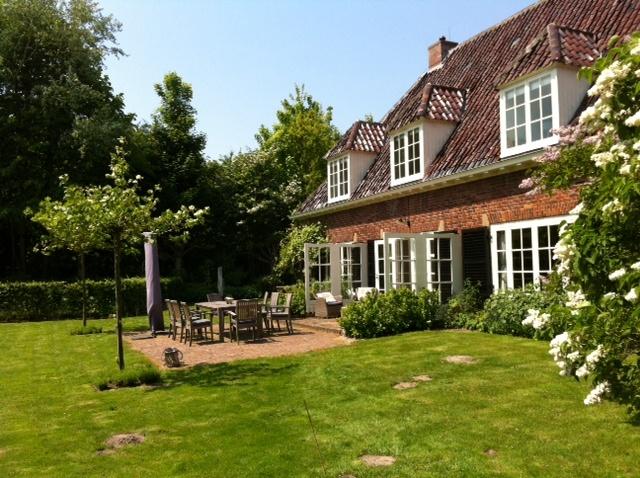 Workshoplokatie Zeeland- achterkant huis